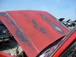 Slade's Red '87 Chevy Table-Before
