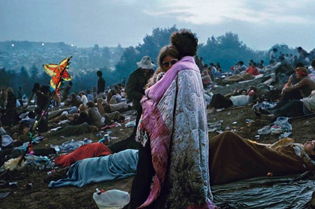 Bobbi and Nick Ercoline at Woodstock, 1969