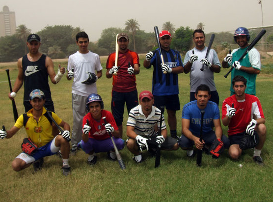 Iraqui national baseball team