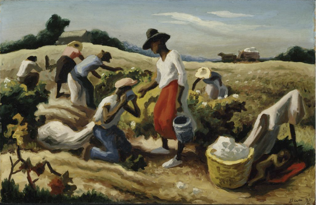 Thomas Hart Benton, Field Workers (Cotton Pickers), 1945. Oil on Canvas. Hirshhorn Museum and Sculpture Garden