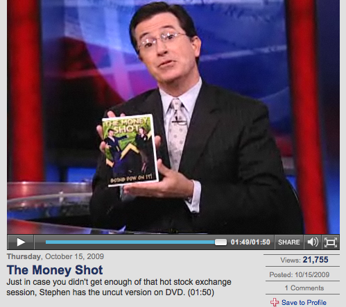 Colbert's Money Shot