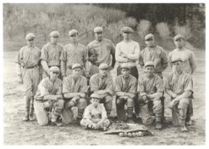Old Baseball Team