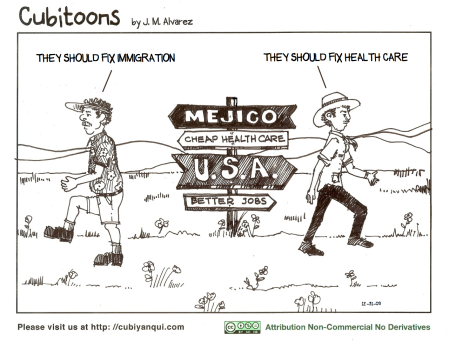 Health Care and Immigration, USA, Mexico
